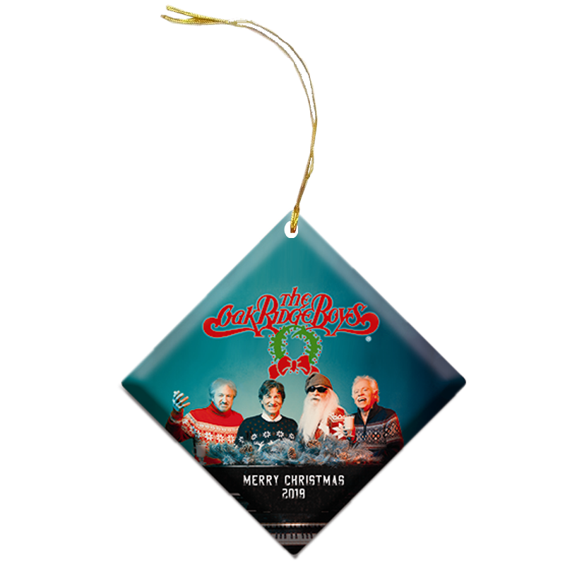 Oak Ridge Boys 2019 Christmas Ornament