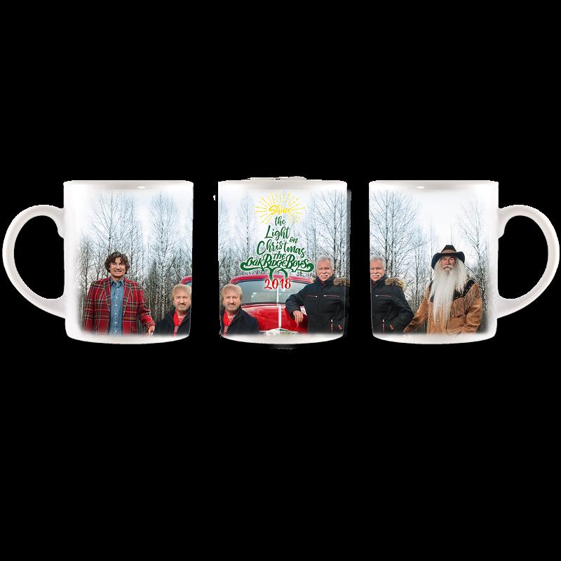 Oak Ridge Boys Christmas Mug