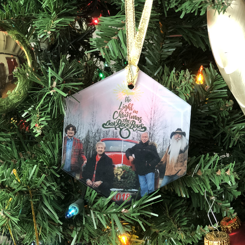 Oak Ridge Boys 2018 Christmas Ornament