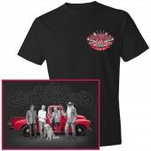 Oak Ridge Boys Black Celebration Tee