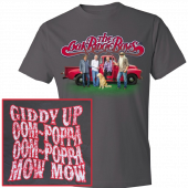 Oak Ridge Boys Charcoal Celebration Tee- OOM POPPA