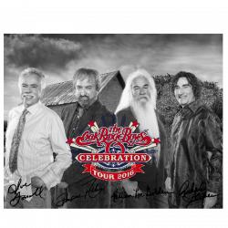 Oak Ridge Boys Celebration Black and White 8x10