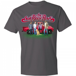 Oak Ridge Boys 2017 Charcoal Celebration Tee