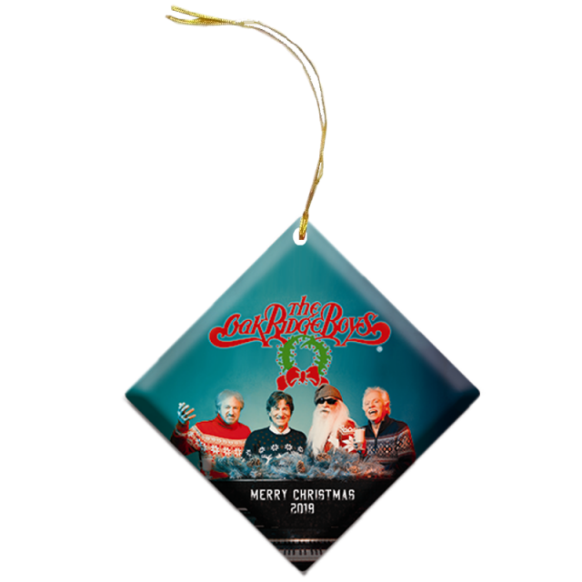Oak Ridge Boys 2019 Christmas Ornament
