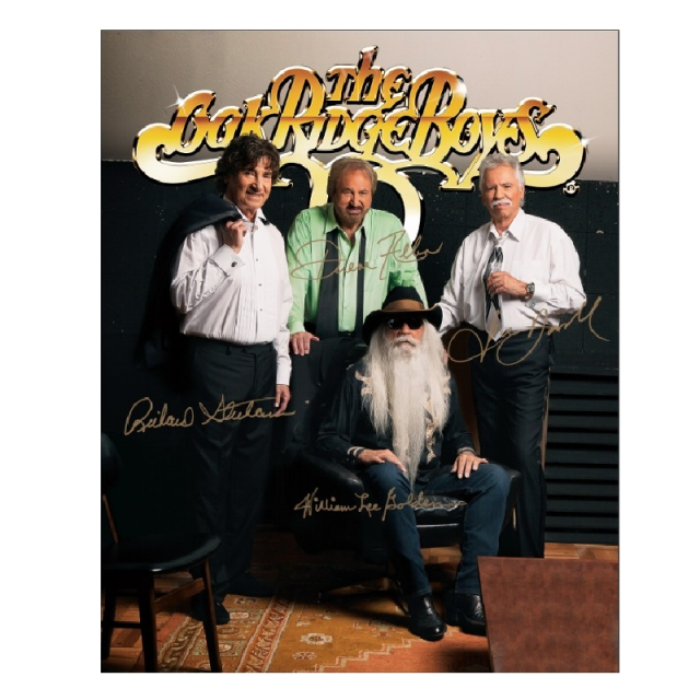 Oak Ridge Boys Gold Logo 8x10