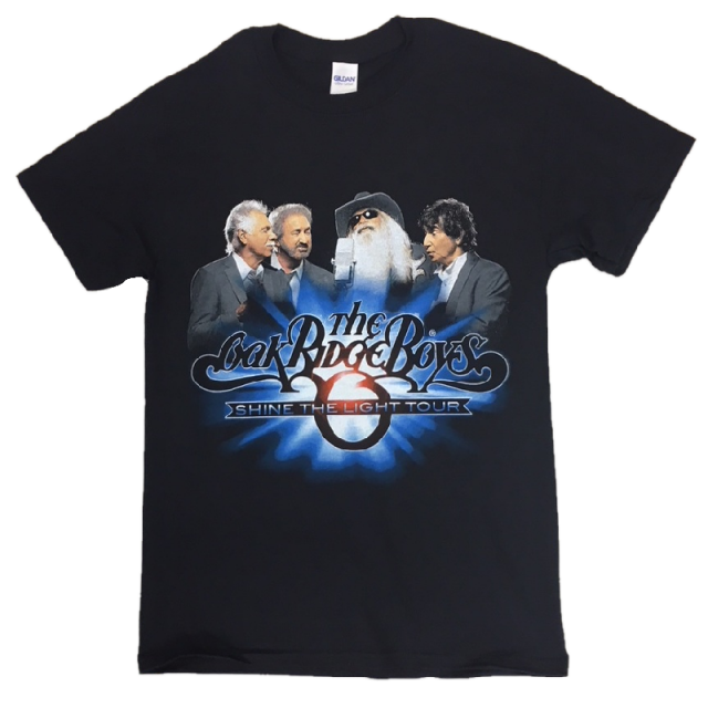 Oak Ridge Boys Black Shine the Light Tee