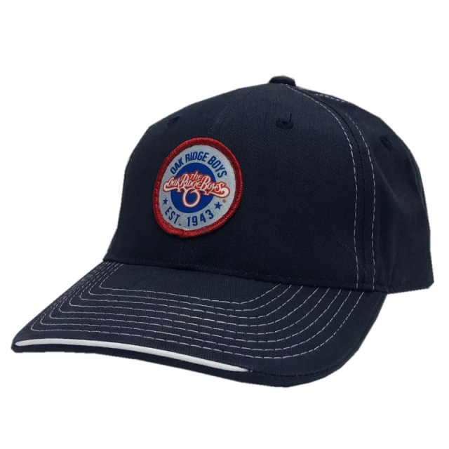 Oak Ridge Boys Navy and White Trim Ballcap- Circle Patch