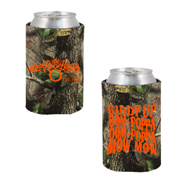 Oak Ridge Boys Camo Can Coolie