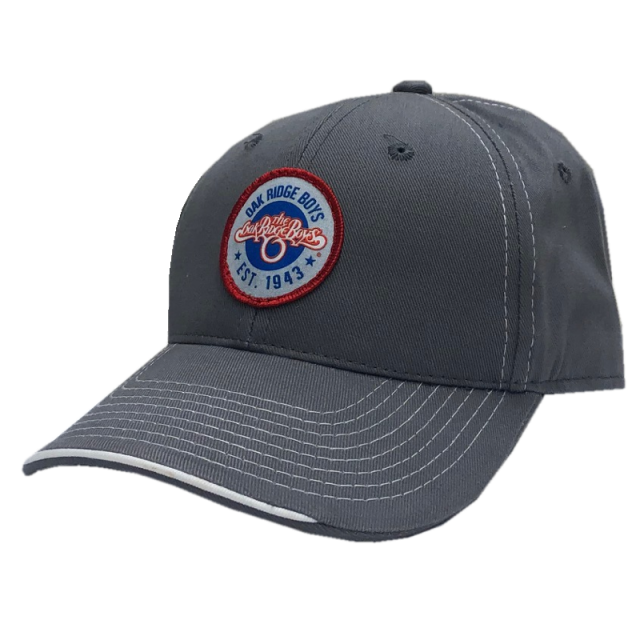 Oak Ridge Boys Charcoal and White Trim Ballcap