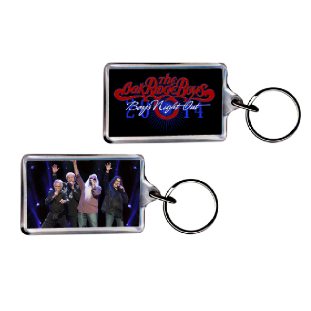 Oak Ridge Boys 2015 Keyring- Boys Night Out