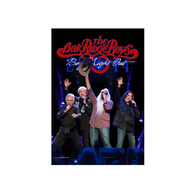 Oak Ridge Boys 2014 Magnet- Boys Night Out