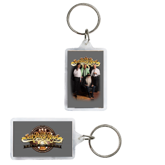 Oak Ridge Boys Gold Logo Keyring